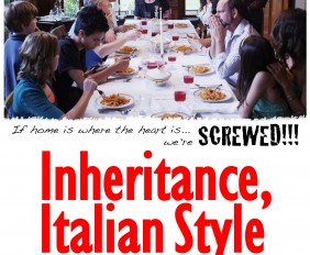 "Poster for film ""Inheritance, Italian Style"""