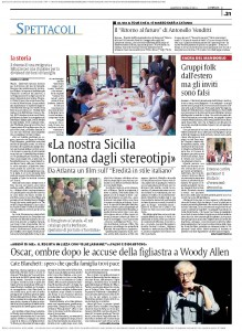 "Article in La Sicilia on ""Inheritance, Italian Style"""