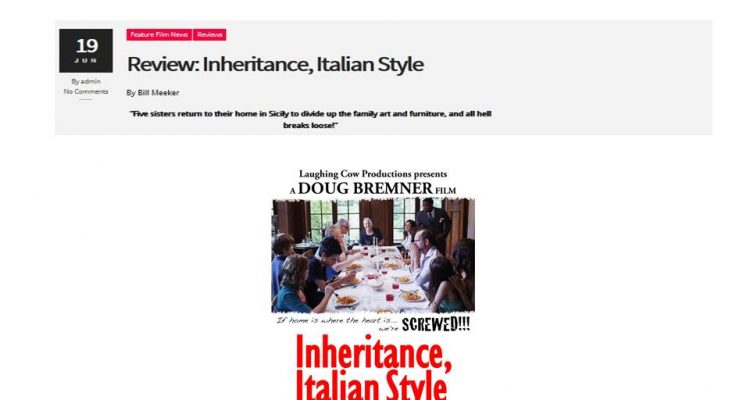 """Turnabout Media Review of """"Inheritance Italian Style"""""""