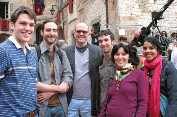 Richard Keatley in Perugia
