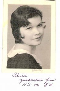 Alice Lloyd, my grandmother