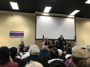Needles in a Haystack Meeting, Democratic Candidates 2017, Roswell, GA