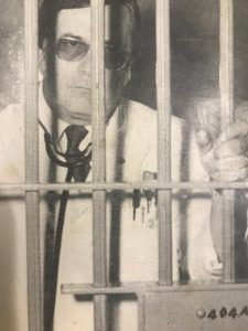 Jack Birge, M.D., in the Carroll County jail