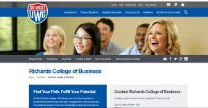 Richards School of Business students